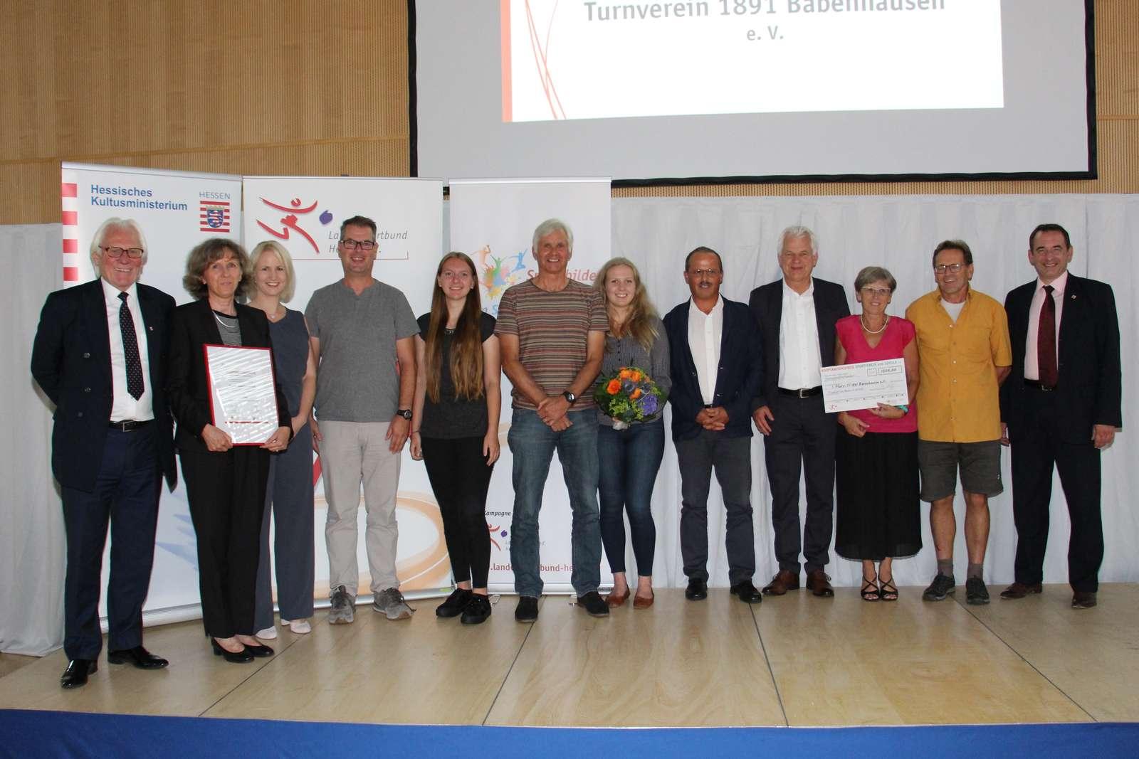 Bild Preisverleihung Kooperationspreis LSBH